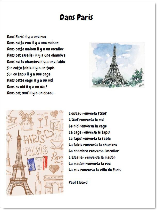 Flirter dans Paris échanger